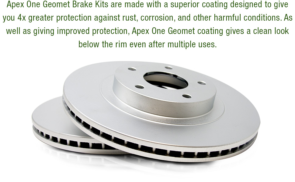 geomet, rotor, vented, fully coated, ready to install, track, sport, performance, racing, auto,