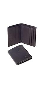 portafoglio portafogli mobido piccolo grosso nero marrone vera pelle Linda Chiarelli made in Italy