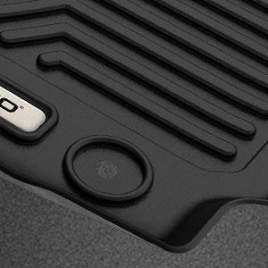 oEdRo Floor Mats Compatible for 2018-2020 GMC Terrain/Terrain Denali