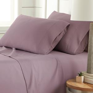 Vilano Springs Lavender Pleated Sheet Ste