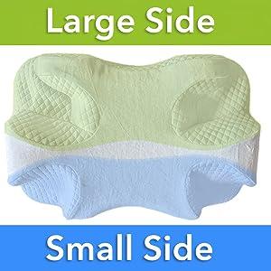 Amazon Com Cpap Pillow Memory Foam Contour Design