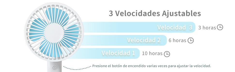Mejore el Ventilador de Escritorio Eléctrico Portátil: Amazon.es ...