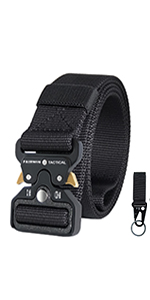 Tactical Belt with Gear Clip