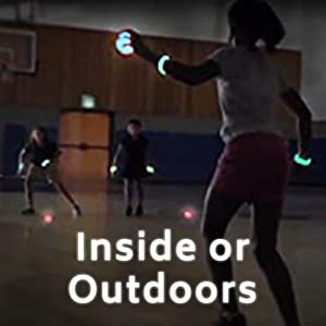 indoor/outdoor game for indoor use, a great gym game or for outside