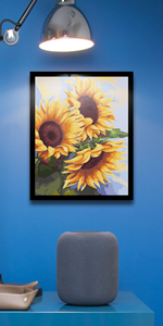 sunflower Paint by Numbers kit Canvas Painting for Adults