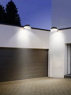 solar fence lighting
