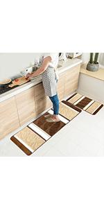 kitchen mat set