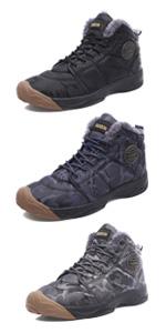 Men snow shoes