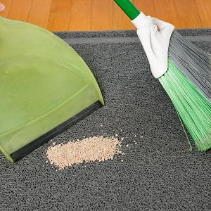 SWEEP LITTER mat