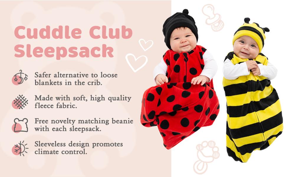 Cuddle Club Sleepsack