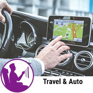 travel auto automobile gps touchscreen airplane car
