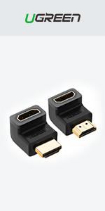 HDMI Right Angle Adapter
