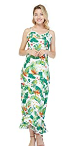 Women Hawaiian Dress
