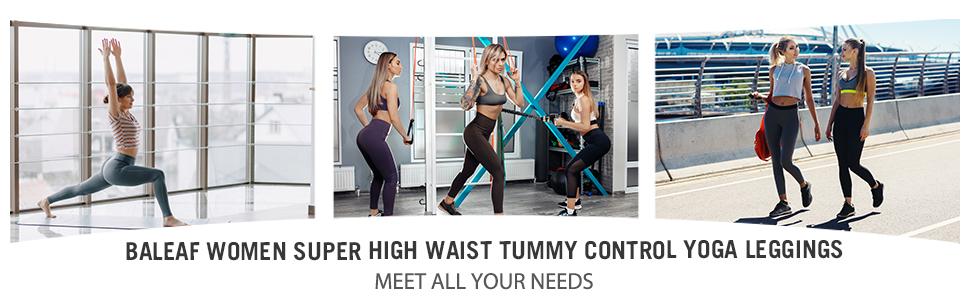 tummy control yoga pants