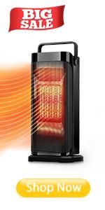Mini Calefactor Cer/ámico Calefactor Port/átil El/éctrico PTC Calefacci/ón de Aire Port/átil Calefactor Vertical con 3 Ajustes de Temperatura Protecci/ón contra Sobrecalentamiento para Hogar/&Oficina