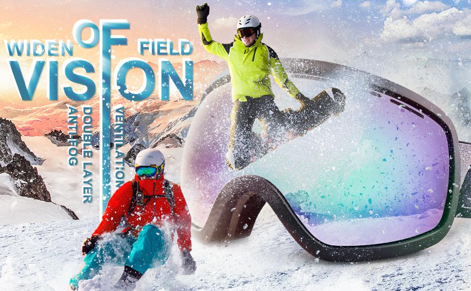 163C ski goggles