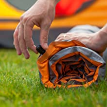 roll up camping pad