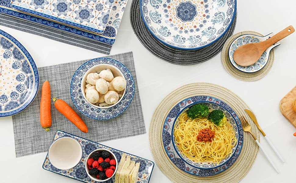 Blue Talavera Collection Dinnerware