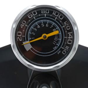 floor pump with pressure gauge bike