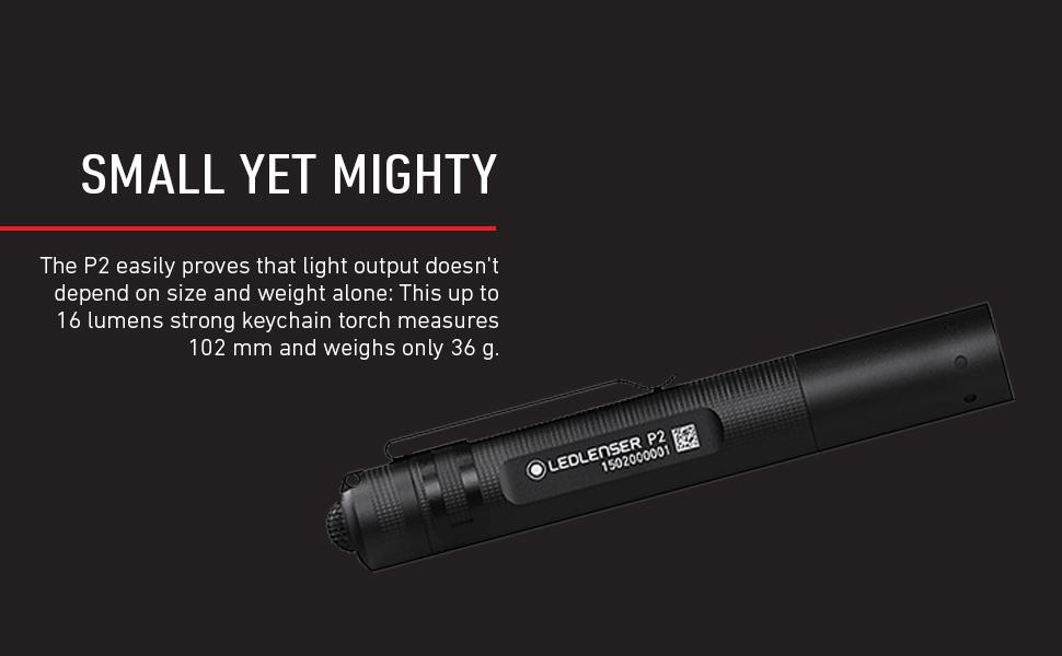 Ledlenser P2, Ledlenser Handheld Torch, Ledlenser Torch, Torch, P2, P Series, Ledlenser P Series