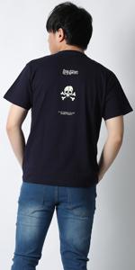 (リアルコンテンツ)REAL CONTENTS tシャツ メンズ 大きいサイズ 半袖 スカル ドクロ 骸骨 ロゴ ストリート 柄 プリント rcst1242