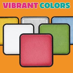 Kraze FX face paint vibrant colors highly pigmented