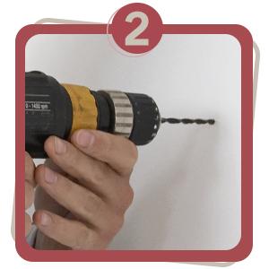 measure, step two, 2, door stop, jnd, steps