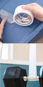 flex seal tear repair cancas vinyl fiberglass duct duck transparent filament packing strapping