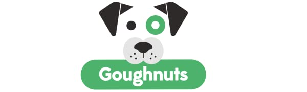 Goughnuts Logo for Aggressive and Power Chewing Dog Chew Toys