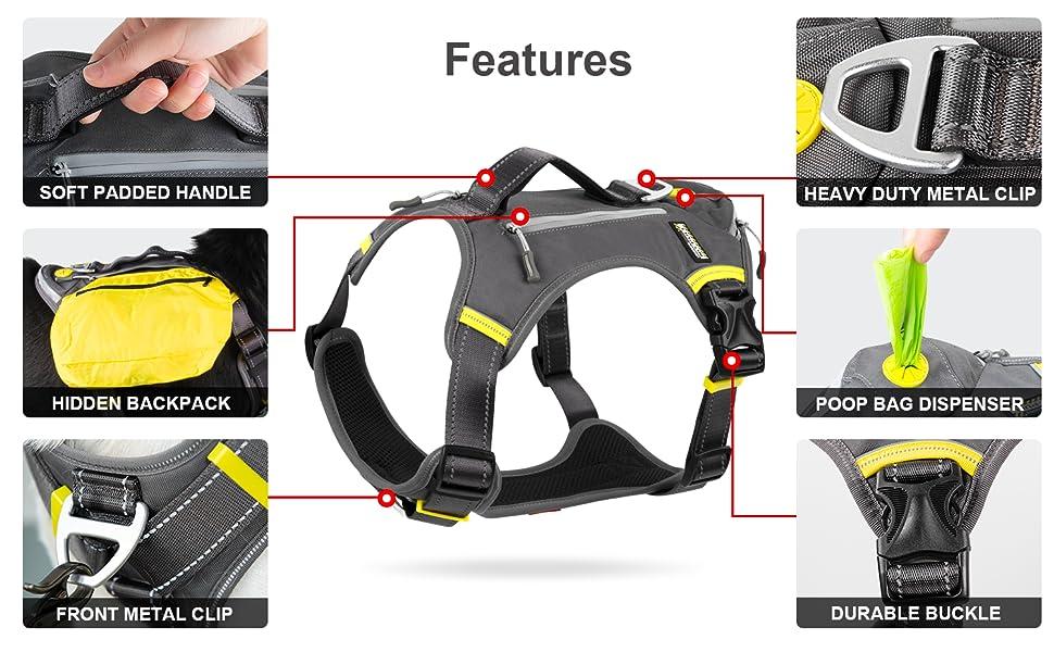details black harness