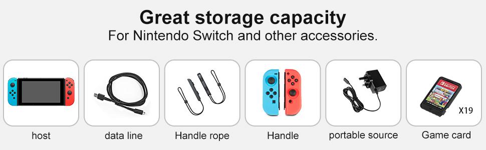 Great storage capacity