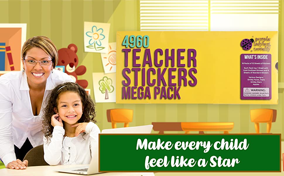 Add to Cart for Deal Teacher Stickers Rewards Merit Stickers Read Descrip