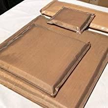 1 Foglio di Teflon per pressa a Caldo AONESY Pacchetto di 5 Cuscini per pressa a Caldo Include 4 Cuscini di trasferimento