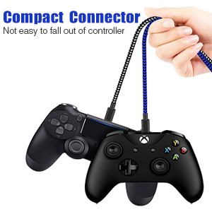 ps4 controller charger cable 15ft