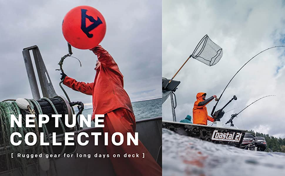 Grundens Neptune Fishing collection- any conditions on waters across the globe