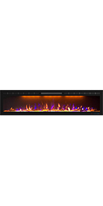 """72"""" Electric Fireplace"""