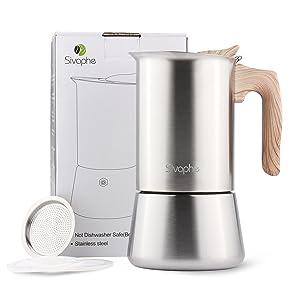 Moka pot stove coffee maker