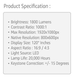 Everycom x7 projector