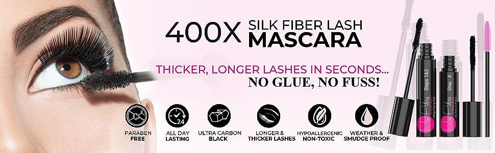 Mia Adora Mascara; Waterproof Mascara; Smudgeproof Mascara; 4D Mascara;