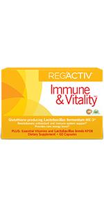 Reg'Activ Immune amp; Vitality Box