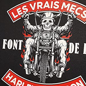 harley davidson t shirt motard homme moto idée cadeau