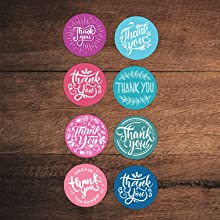 thank you for your order stickers, thank you for supporting my small business stickers