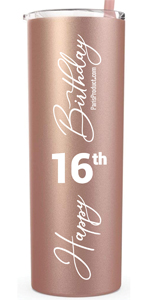 16 amp; Fabulous Happy 16th Birthday Sweet 16 Birthday Gifts for Girls Sweet Sixteen Birthday Gifts