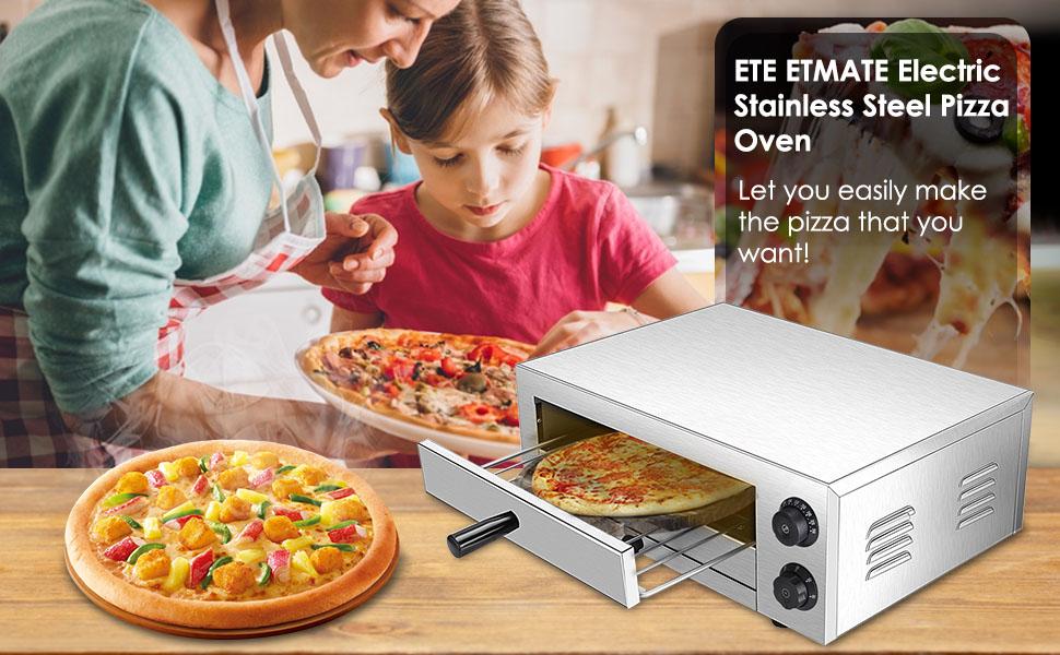 ETE ETMATE Pizza Oven