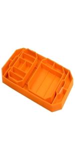 Grypmat flexible tool tray mat cart non slip wrench ratchet socket grip mat pro trio pack
