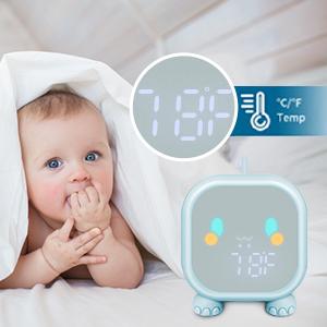 USB Alarm Clock for Boys