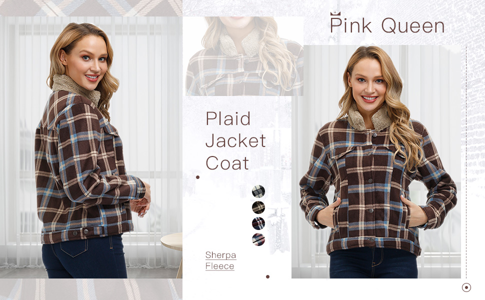 Pink Queen Plaid Jacket