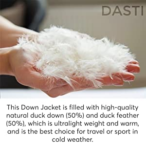 down and feather down jacket for kids