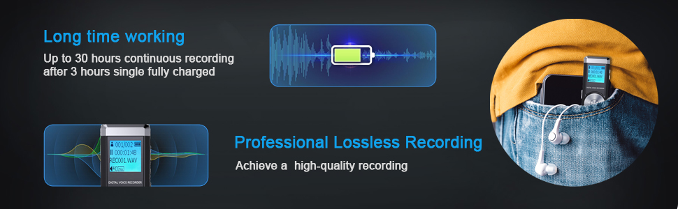 KINPEE Audio Recording