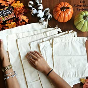 cotton bags for bulk food